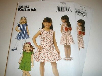 a8b6f9ee11eb BUTTERICK SEWING PATTERN 6162 CHILD GIRLS DRESS Choose Size 2-5 or 6 ...