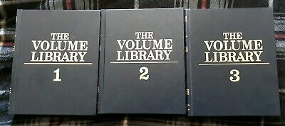 The Volume Library Set 1-3, 1996