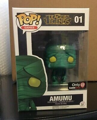 League Of Legends  Funko Pop Vinyl. # 01. Amumu.  ( GameStop)