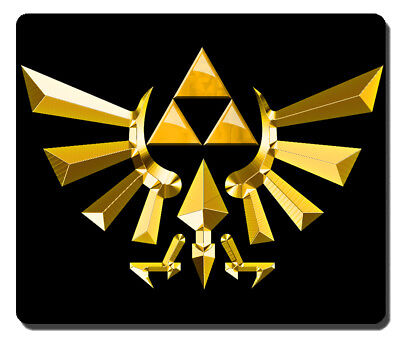 mousepad mouse pad the legend of zelda logo