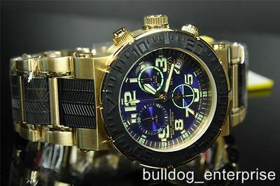 Invicta 6142 Reserve Ocean Reef Gold Plated Swiss Made Chronograph Watch New