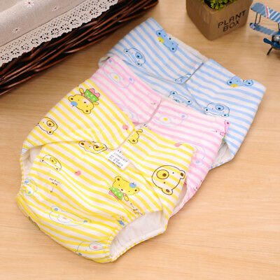 Disposable Waterproof Infants Baby Cotton 2-Layer Cloth Diaper Cover Nappy Panty