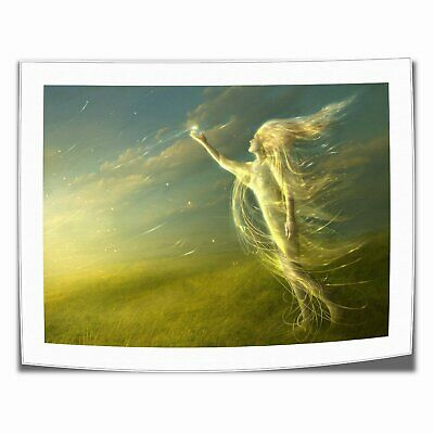 "Angel Girl Light Home Decor HD Canvas prints Picture Wall art Painting 18""x24"""