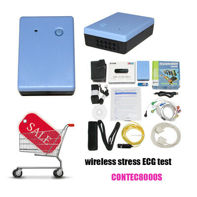 CONTEC Wireless Stress ECG/EKG Analysis System,Exercise stress ECG Test software