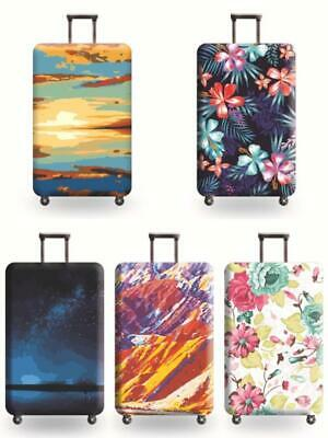 World Travel Luggage Suitcase Cover Protector Bag Scratch Dust Waterproof Guard