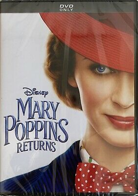 MARY POPPINS RETURNS  <   DVD   >  *New *Factory Sealed