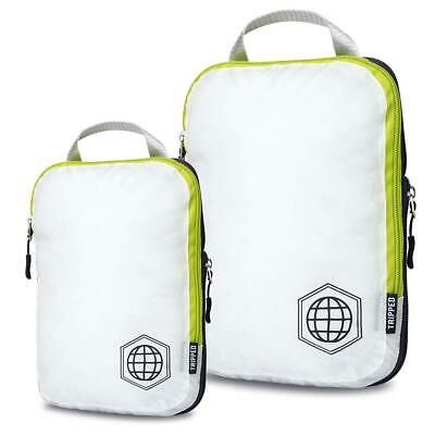 Packing Cubes Travel Organizer- Compression for Carryon Luggage