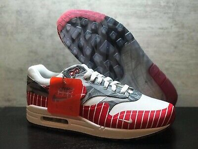 Nike Air Max 1 Latino History Month WhiteUniversity Red Los Primeros AH7740 100 Men's Size 4