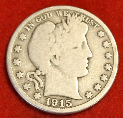 1915-S Barber Half Dollar Vg Beautiful Coin Check Out Store Bh562