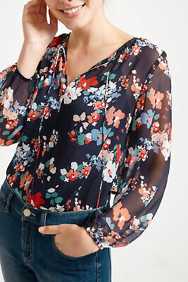 New Sportscraft Olivia Floral Blouse