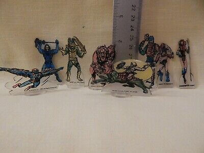 He-Man Masters of the Universe COLORFORMS SHRINKY DINKS Loose 8 of 9 figures