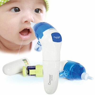 1pc Nasal Aspirator Safe Automatic Electric Nose Sucker for Kids Baby Infant