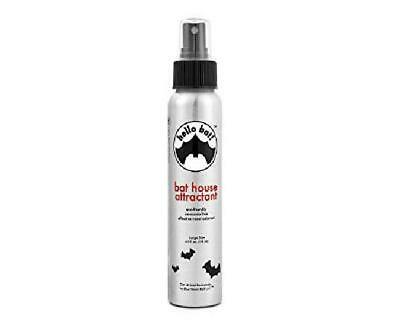 Bat House Attractant Scent Spray - Research-Based Pheromone (No Guano ) For Outs