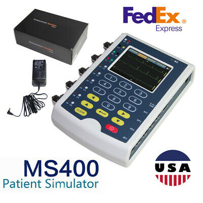 Contec MS400 Multi-parameter Patient Simulator,ECG Simulator USA Warehouse,Fedex