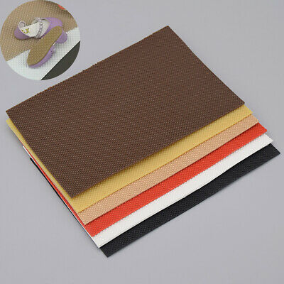13.5*9cm Rubber Sheet Fabric Sole Anti-slip Protector DIY Solid Pad Resistant