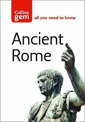 NEW - Collins Gem Ancient Rome: The Entire Roman Empire in Your Pocket