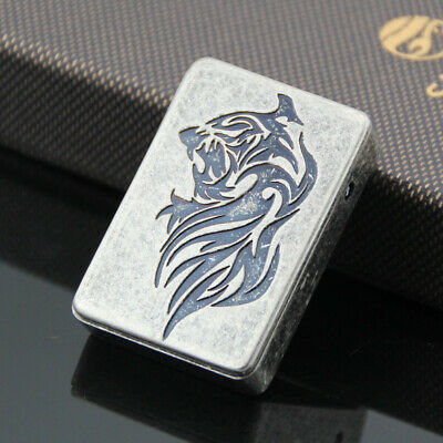5 pcs Tiger Head Windproof Flameless Cigarette Lighter USB Rechargeable Lighters