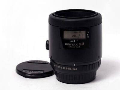 Pentax SMC FA 50mm F2.8 Macro Prime Lens Excellent from Japan Free Shipping
