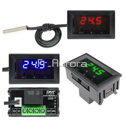 12V Thermostat W1209 Digital Temperature Controller Switch Sensor+Case -50~110°C