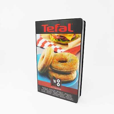 Tefal XA801612 Snack Collection Bagel-Set Donuts XA 8016 Snack Collection Time