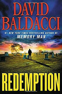 Redemption Memory Man series by David Baldacci Hardcover Book 5 Adventure NEW