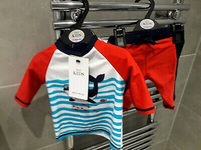 BNWT Fabulous M&S SPF 40 Swimming Suit 3-6 Months