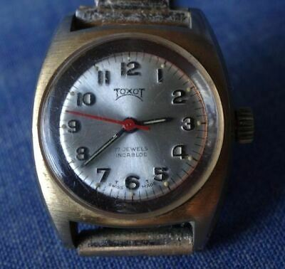 Rare Toxot (Anglo Watch Co) Australian Swiss Made Ladies Watch ,17 Jewels