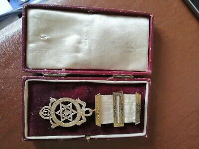 Masonic Royal Arch Jewel Solid Silver Toye And Co