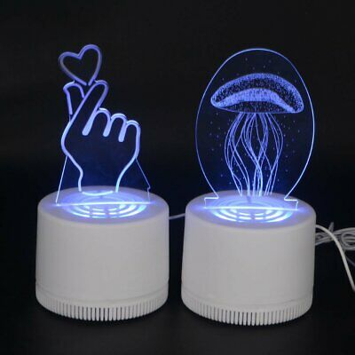 3D Photocatalytic Mosquito Killer Insect Trap Lamp USB LED Decoration Light Home
