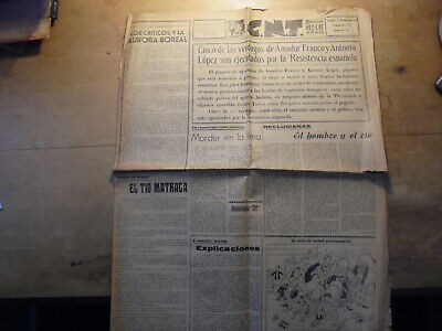 "journal anarchiste ""CNT"" Toulouse 1947"