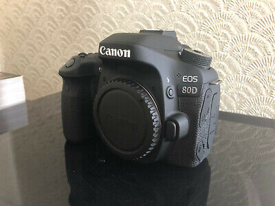 CANON EOS 80D 24MP DIGITAL SLR CAMERA BODY - Very Low Usage - CANON EOS80D