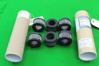 6 x Edwards EMF 20 Filter A223-04-077 Replacement Spare Odour Element Exhaust