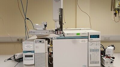 Agilent 6890 GC System with 5973N MSD, 59864B Ion Gauge + Pumps
