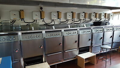 7 Tricity Double Ovens W/ Grill, Commercial Kitchen Equipment Catering 500C