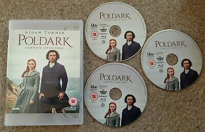 Blu Ray Poldark The Complete Series 4 Four Fourth