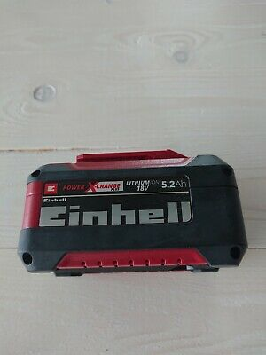 Einhell System Akku Power X-Change Plus (Lithium Ionen Akku, 18 V, 5,2 Ah,
