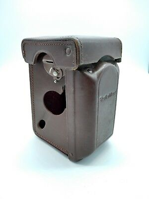 Rolleiflex 3.5F Leather Case - Excellent Condition