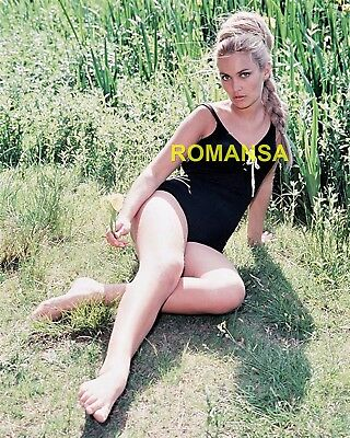 Alexandra Bastedo 10 X 8 Photograph + Free 6 X 4 Pocket Book Size Photo  R4654