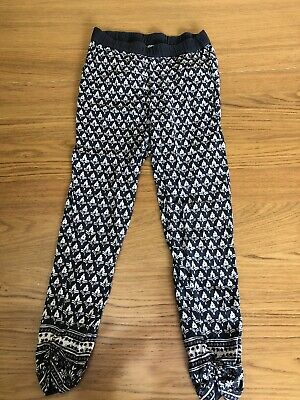 NEXT Light Summer Trousers Age 9  Girls Holiday
