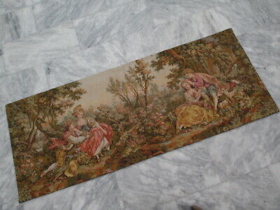 4985 - Old French / Belgium Tapestry Wall Hanging - 170 x 68 cm