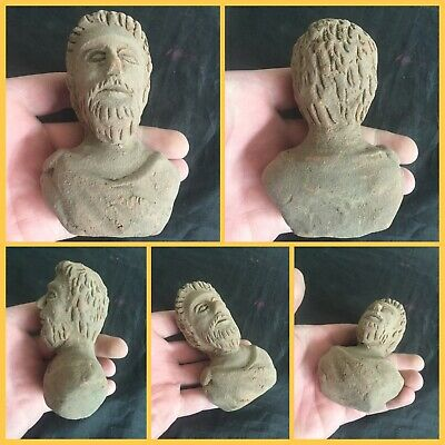 Rare ancient Terracotta Indus Valley pottery bust , 2000 bc
