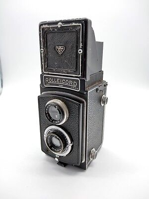 Rolleicord 1A Type 3 - Good Condition Complete With Case & Short Strap