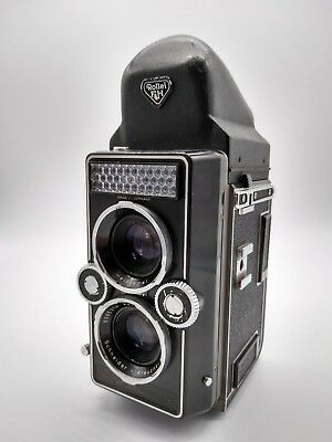 Rollei Magic I Tlr Camera With Pentaprism Finder - Excellent Condition