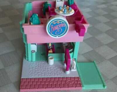Polly Pocket mini 1994 drive in Burger Restaurant Haus