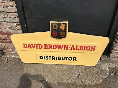 David Brown Tractors 1960's Dealer Sign