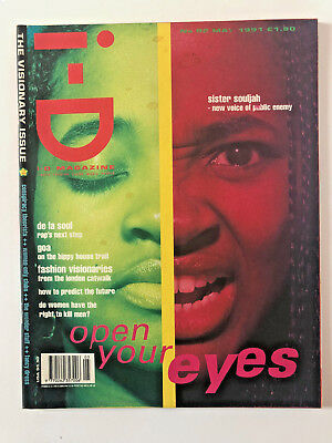 I-D Magazine May 1991 Visionary Issue