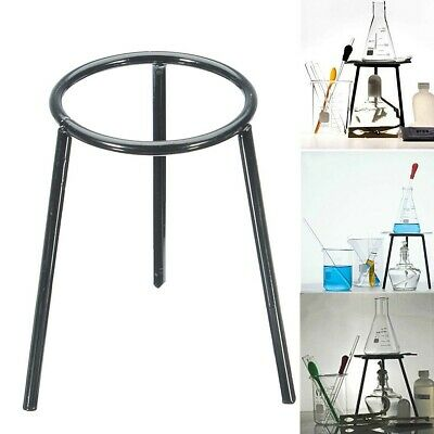 Lab Bunsen Burner Tripod Cast Iron Support Stand