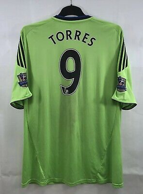 Chelsea Fernando Torres 9 Third Football Shirt 2010/11 Adults XL Adidas