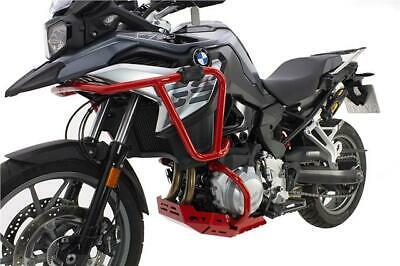 CrossPro RED Engine Guards Crash Bars BMW F850GS 2019