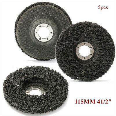 115mm Abrasive Disc Rust And Paint Removal Polycarbide Abrasive Stripping Disc W